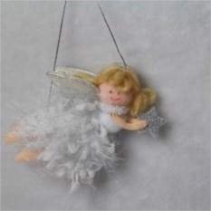 Новогодняя подвесная фигурка Ангелочек