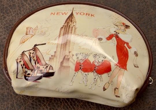Косметичка Eclat Модный Нью-Йорк