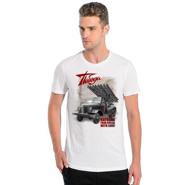 Мужская футболка Победа, katusha