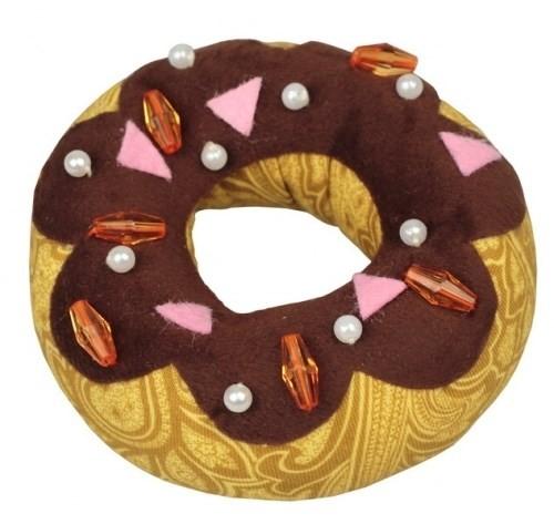 Игольница Шоколадный пончик