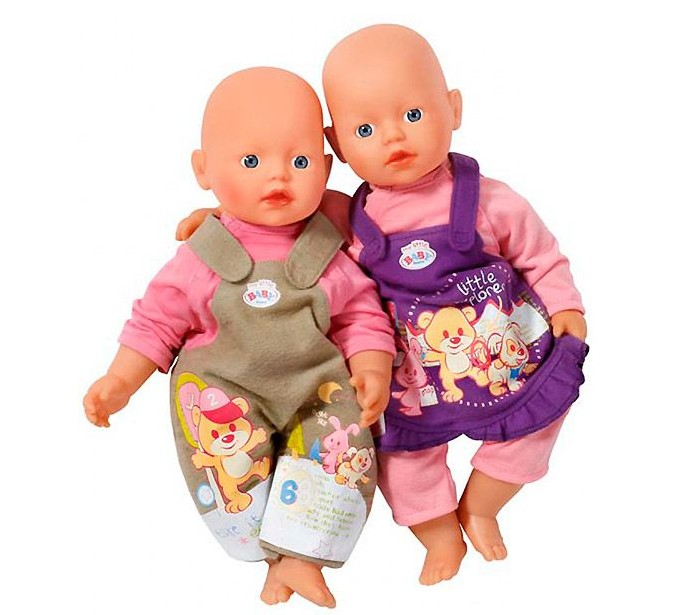 Комплект одежды для куклы my little BABY born Zapf Creation