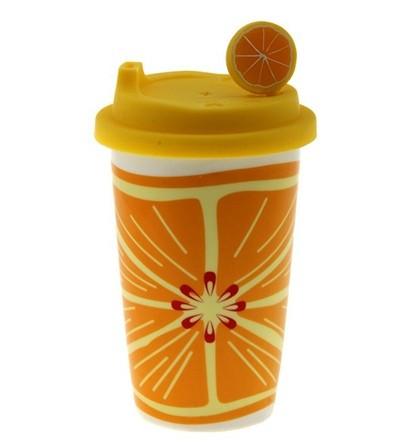 Стакан-непроливайка Апельсин