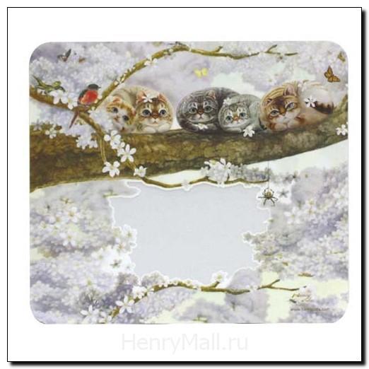 Фоторамка-коврик «Весеннее цветение»