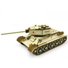 Подвижный 3D конструктор Танк Т-34-85