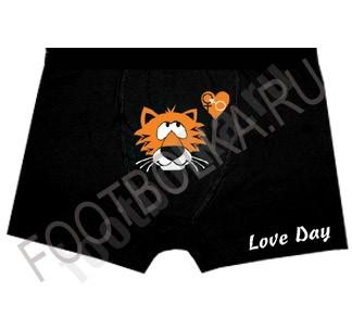Мужские трусы с тигром Love Day