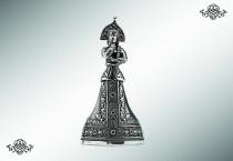 Серебряный колокольчик «Василиса»