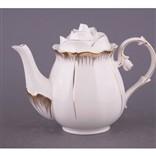 «Белая роза». Заварочный чайник