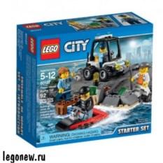 Конструктор для начинающих Lego City Остров-тюрьма
