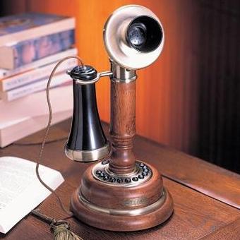 Телефон «Серебряный подсвечник»