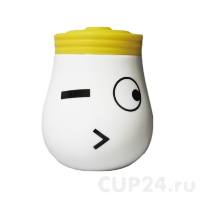 Желтая кружка Лампа
