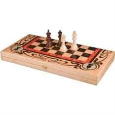 Набор игр шахматы, шашки, нарды Статус