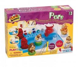Игровой набор с гипсом Домашние животные