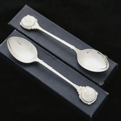 Две серебряные ложки «Лёгкая атлетика: эстафета»