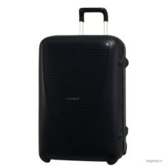 Темно-синий чемодан Samsonite termo young размера М