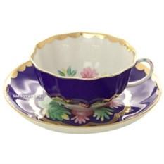 Фарфоровый чайный сервиз на 6 персон Красавица