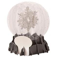 Новогодняя 3D открытка «Снежинка»