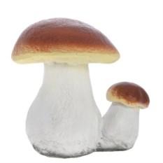 Декоративная садовая фигура Двойной белый гриб