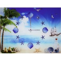 Часы с кристаллами Swarovski Море