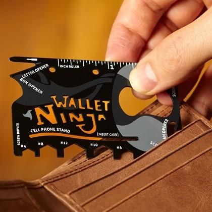 Мультитул 16 в 1 Wallet Ninja