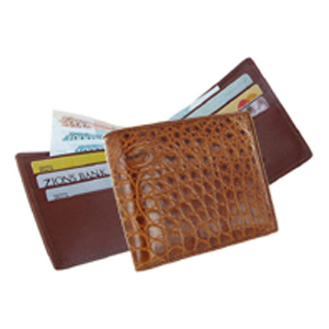 Мужской кошелёк из кожи крокодила Quarro