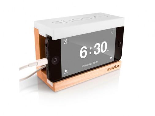 Подставка-будильник для вашего iPhone SNOOZE