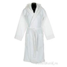 Элитный велюровый халат Logo с капюшоном от Roberto Cavalli
