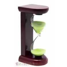 Песочные часы Салатовый песок (5 минут)