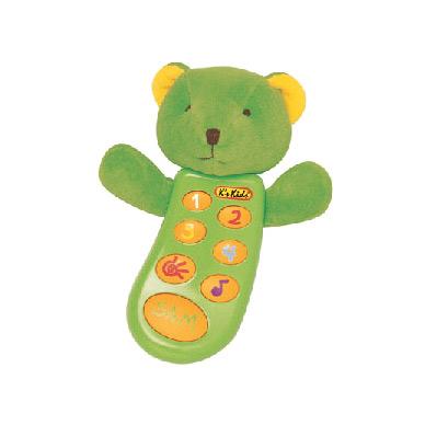 Музыкальный телефон Мишка (с записью)