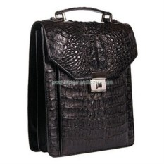 Портфель-планшет из крокодиловой кожи