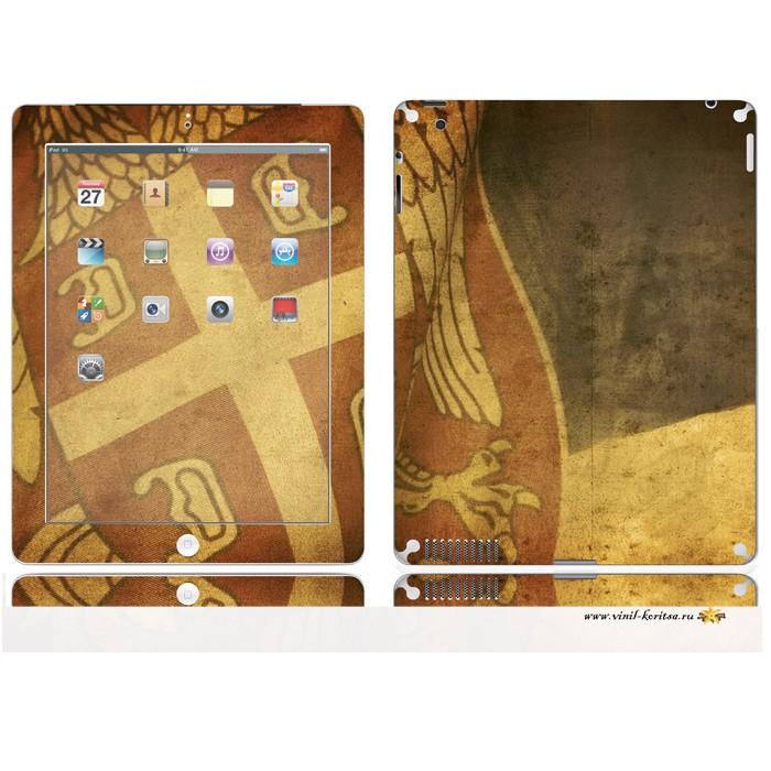 Наклейка Винил с корицей (iPad2)