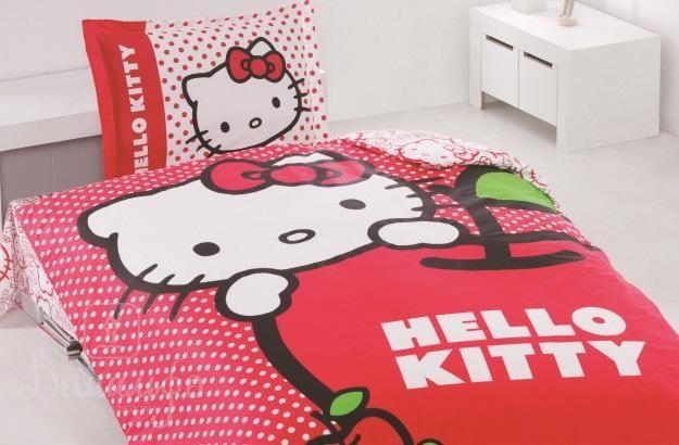 Детское постельное белье Hello Kitty Apple
