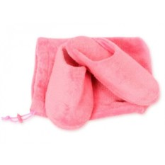 Женские тапочки для дома (цвет: розовый)