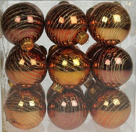 Набор ёлочных игрушек Золотой дождь
