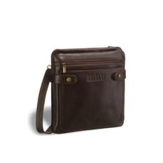 Кожаная сумка через плечо Brialdi Nevada (цвет: коричневый)