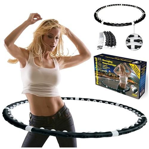 Утяжеленный массажный обруч Massaging Hoop Exerciser