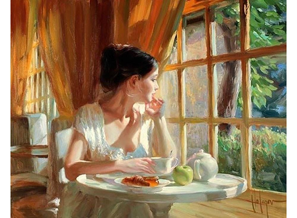 Картины по номерам «Солнечный завтрак»