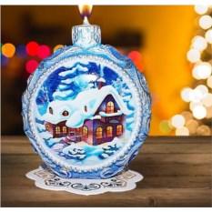 Новогодняя свеча «Зимняя ночь»