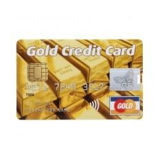 Флешка «Золотая кредитка»