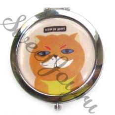 Карманное зеркало Cat