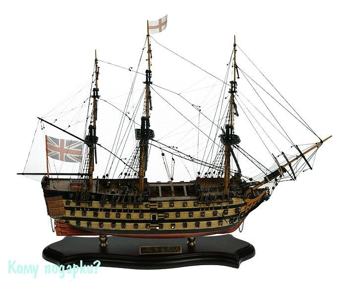 Модель корабля HMS Victory