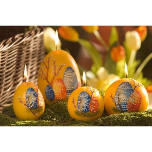 Свеча «Пасхальное яйцо» колонна, 50х100