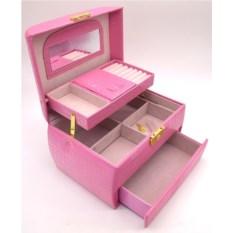 Розовая шкатулка для ювелирных украшений