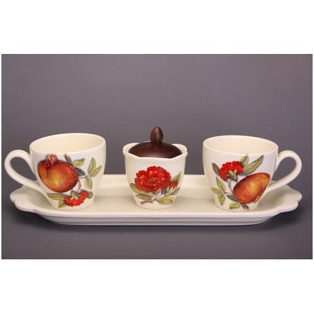 Чайный набор «Гранаты»