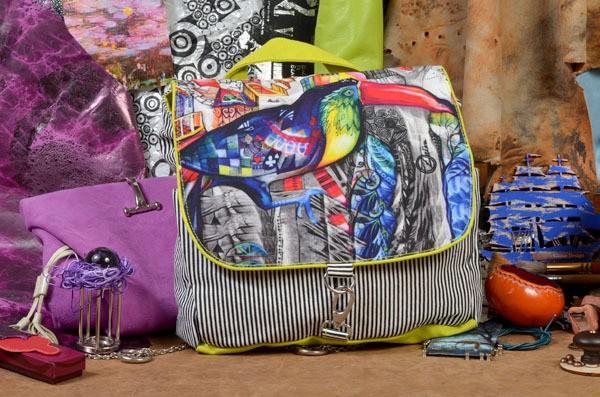 Текстильный рюкзак Тукан из коллекции Socotra