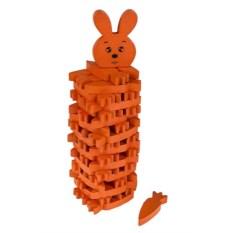 Настольная развлекательная игра Дженга - морковки