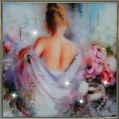 Картина с кристаллами Сваровски Соблазн