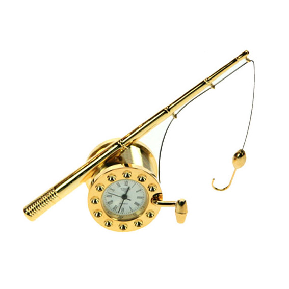 Часы сувенирные «Удочка»