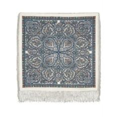 Павлопосадский шерстяной платок с рисунком Русское золото