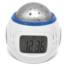 Часы с будильником и ночником Проектор звездного неба