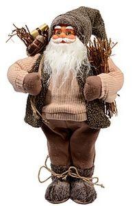 Санта с хворостом, 60 см.